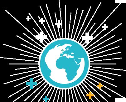 la planète terre se met à l'économie positive et au développement durable
